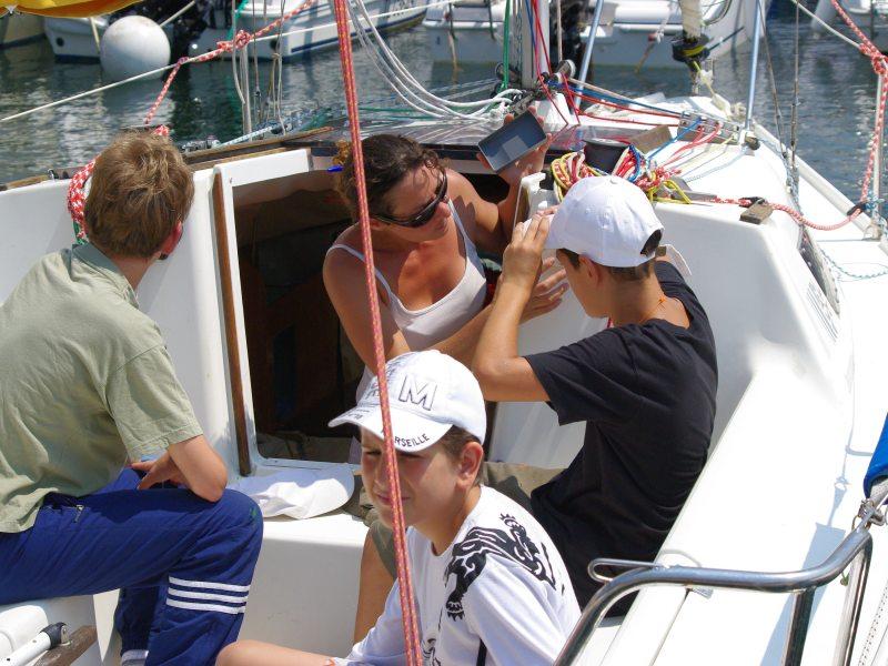 Navigation handisport